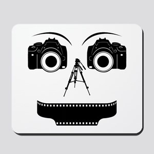 PHOTOGRAPHER FACE Mousepad