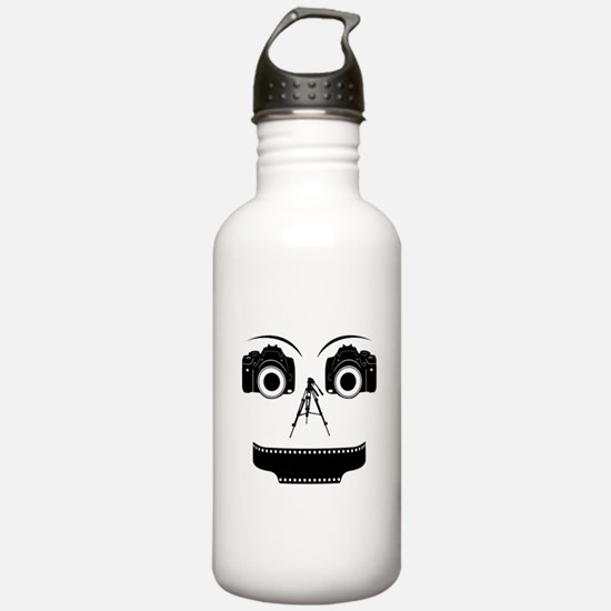PHOTOGRAPHER FACE Water Bottle