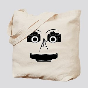 PHOTOGRAPHER FACE Tote Bag