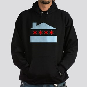 Chicago House Flag Hoodie