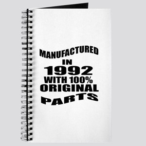Manufactured In 1992 Journal