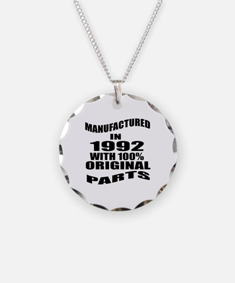 Manufactured In 1992 Necklace