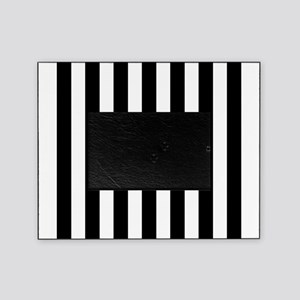 Black White Stripes Picture Frames Cafepress