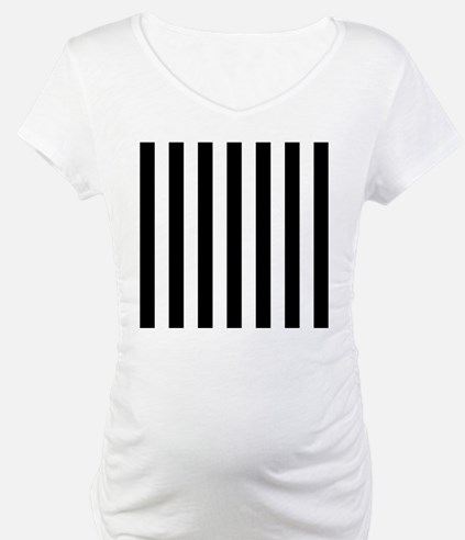 Black and white vertical stripes Shirt