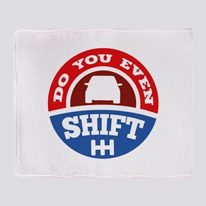Do You Even Shift? Stadium Blanket