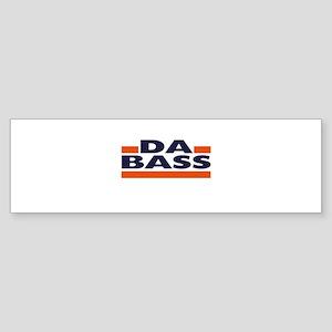 Da Bass Light Bumper Sticker