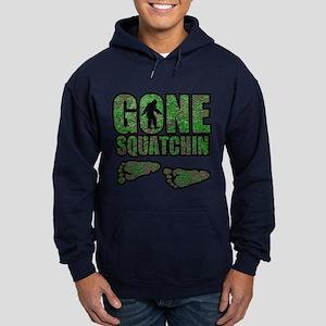 Gone Squatchin woodlands Hoodie (dark)