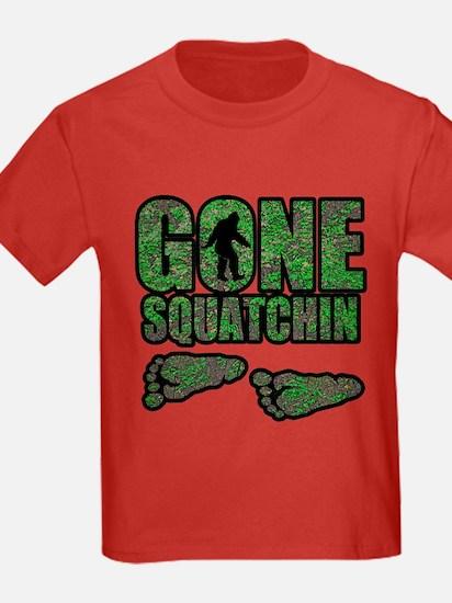 Gone Squatchin woodlands T