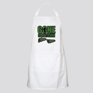 Gone Squatchin woodlands Apron