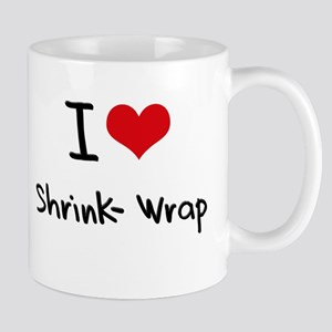 I Love Shrink-Wrap Mug