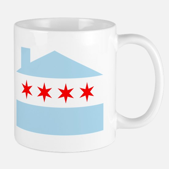 Chicago House Flag Mug