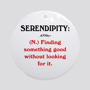SERENDIPITY Ornament (Round)