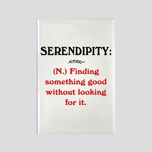 SERENDIPITY Rectangle Magnet