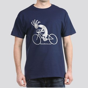 Kokopelli Road Cyclist Dark T-Shirt