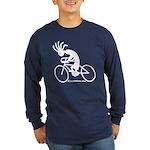 Kokopelli Road Cyclist Long Sleeve Dark T-Shirt