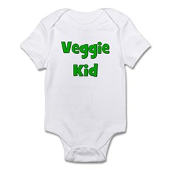 Veggie Kid - Green Infant Bodysuit