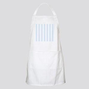 Light Blue and white vertical stripes Apron