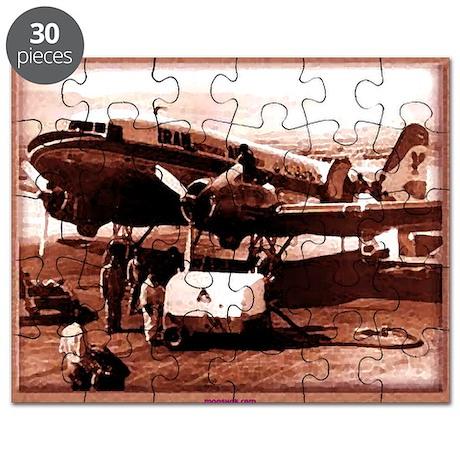 retro Iran Air Puzzle