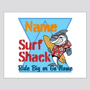 Custom surf shack Posters