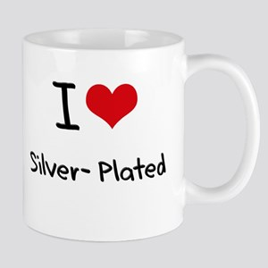 I Love Silver-Plated Mug