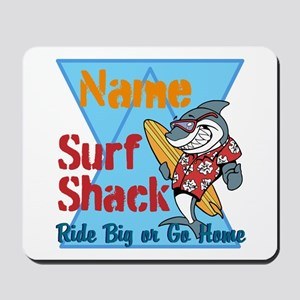 Custom surf shack Mousepad