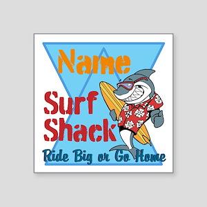 Custom surf shack Sticker