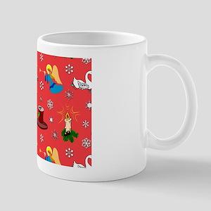 Christmas, Swans, Angels Mug
