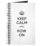 Keep Calm and Row On Journal