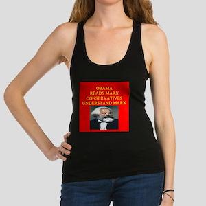 anti obama socialism gifts t-shirts Racerback Tank