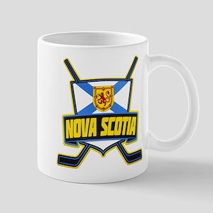 Nova Scotia Hockey Flag Logo Mug