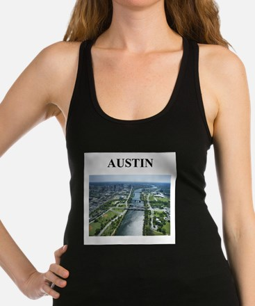 austin texas gifts Racerback Tank Top