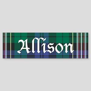 Tartan - Allison Sticker (Bumper)