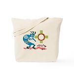 Kokopelli in the Sun Tote Bag