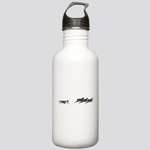 Merle BC on Sheep Stainless Water Bottle 1.0L