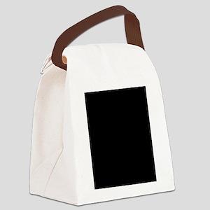 LumbarVertebralBody Canvas Lunch Bag