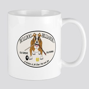 Bulldog Billiards Mug