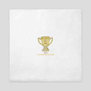 Personalized Trophy Queen Duvet