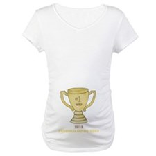 Personalized Trophy Maternity T-Shirt
