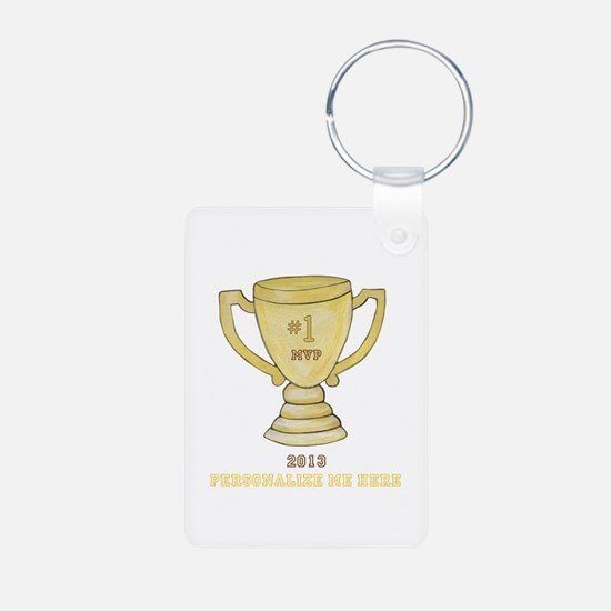 Personalized Trophy Keychains
