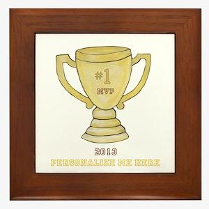 Personalized Trophy Framed Tile