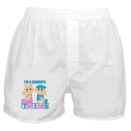 I'm A Grandpa (BBG:blk) Boxer Shorts