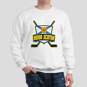 Nova Scotia Hockey Flag Logo Sweatshirt