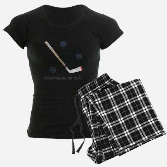 Personalized Hockey Pajamas