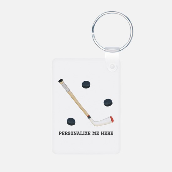 Personalized Hockey Keychains