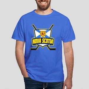 Nova Scotia Hockey Flag Logo T-Shirt