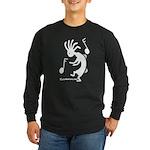 Kokopelli Dancer Long Sleeve Dark T-Shirt