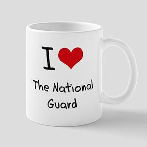 I Love The National Guard Mug