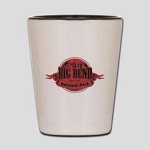 big bend 1 Shot Glass