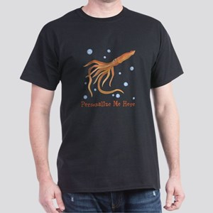 Personalized Squid Dark T-Shirt