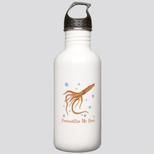Personalized Squid Stainless Water Bottle 1.0L